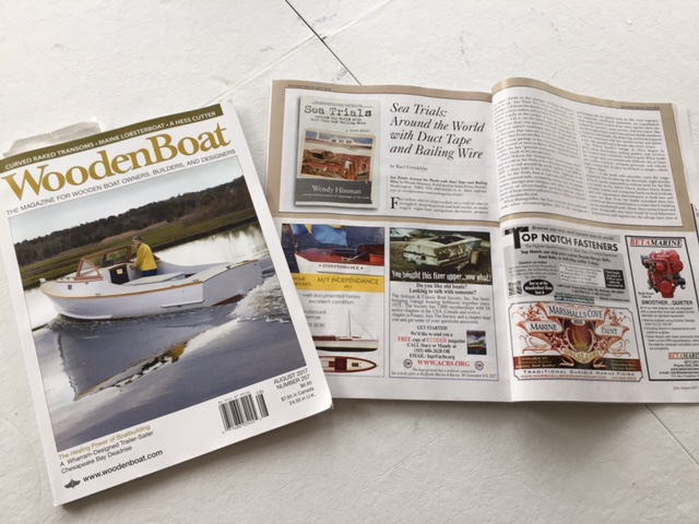 Wendy Hinman Wooden Boat Magazine Review For Sea Trials