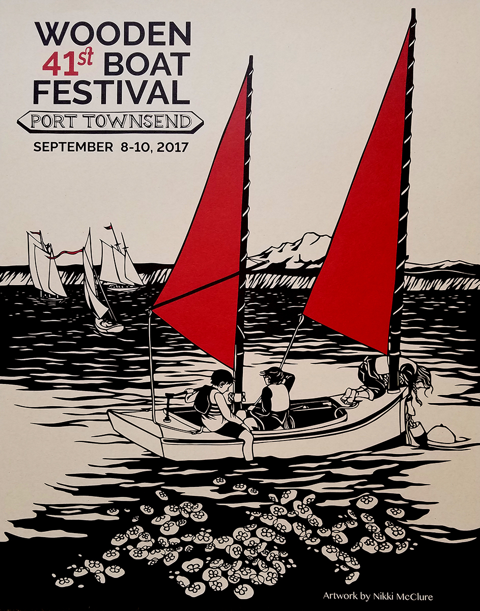 Wendy Hinman Wendy Hinman Presents At 2017 Wooden Boat Festival